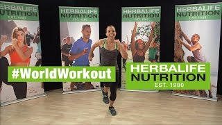 Herbalife World Record Workout Routine   #WorldWorkout - March 7 2015