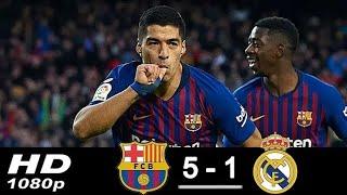 Download Video Barcellona vs R.Madrrid 5-1 Hasil El Clasico Tadi Malam - 29 Oktober 2018 MP3 3GP MP4