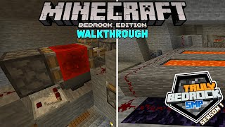 Almost haste 2 speed stone generator. Minecraft Bedrock walkthrough on Truly Bedrock S1E56