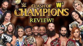 WWE Clash of Champions 2019 Review   Wrestling With Wregret