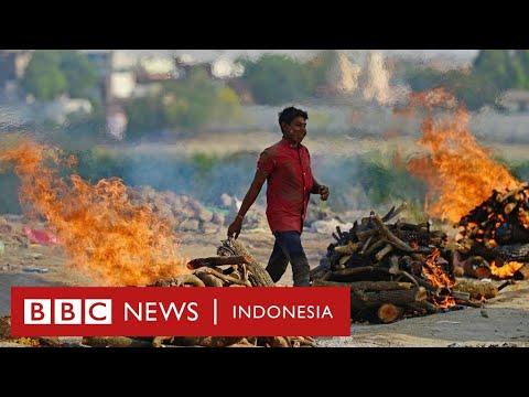 Tsunami Covid-19 di India: 'Kami bisa terpaksa membakar mayat di jalanan' - BBC News Indonesia