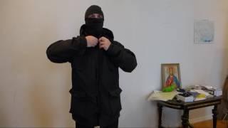 """Видео обзор куртки парки британской, цвет black от """"Chameleon""""."""