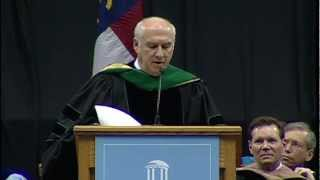 Dr. Myron Cohen 2012 December Commencement Address | UNC-Chapel Hill