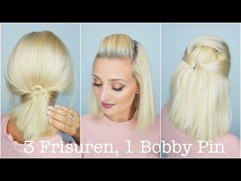 3 Frisuren, 1 Bobby Pin | OlesjasWelt