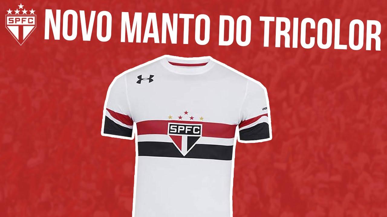 2868253d34 NOVA CAMISA DO SÃO PAULO 2016 | UNDER ARMOUR 2016 - YouTube