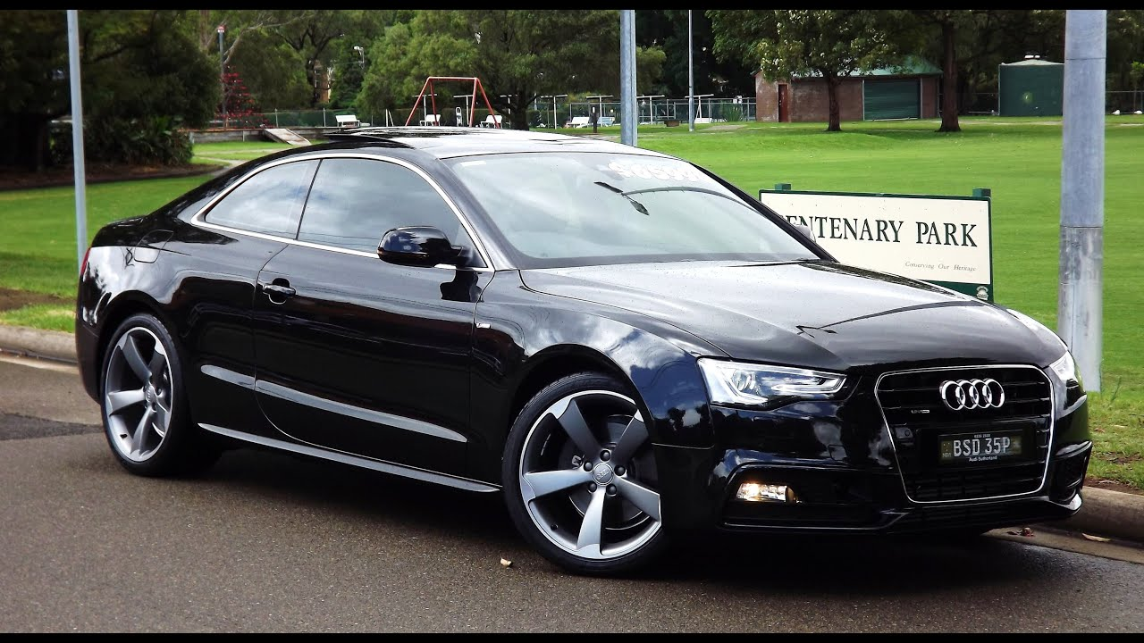 2012 audi a5 3 0d quattro s line coupe automatic youtube. Black Bedroom Furniture Sets. Home Design Ideas