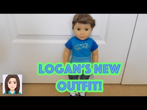 American Boy Doll Logan's New My Life As Outfit!