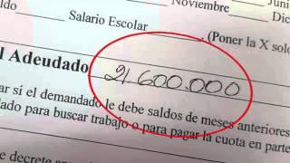 Hombre de 69 años tiene que pagar 21 millones 600 mil colones por pensión alimentaria