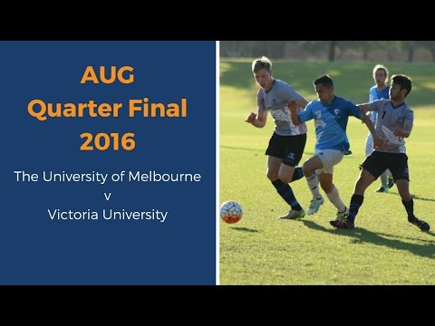 AUG 2016 QUARTER FINAL: MELBOURNE V VICTORIA UNI