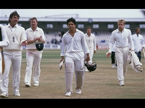 Sachin Tendulkar 1st Test Century • Cricket Memorable Moments