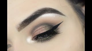 Too Faced Chocolate Gold Palette | Eye Makeup Tutorial