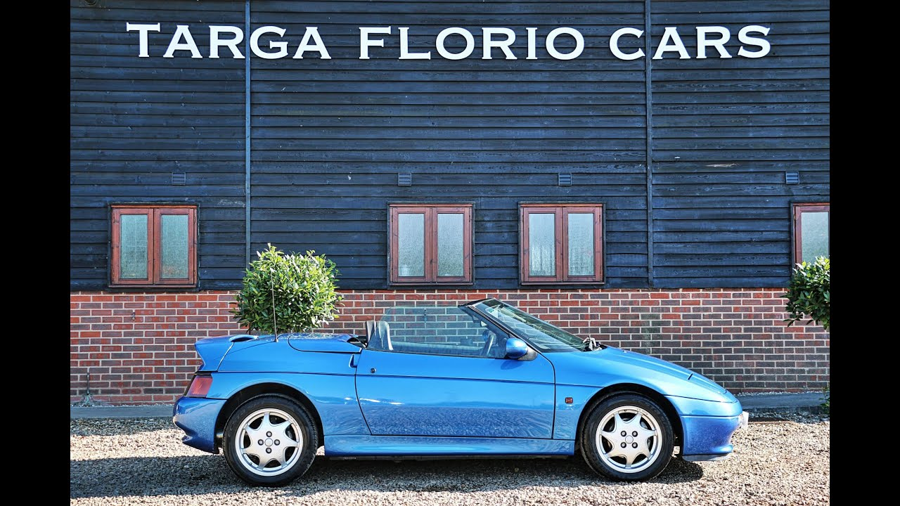 Lotus Elan SE Convertible 1 6 Turbo for sale in Blue with Black Roof