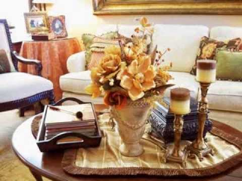 Coffee Table Centerpiece Ideas coffee table decorating ideas - youtube