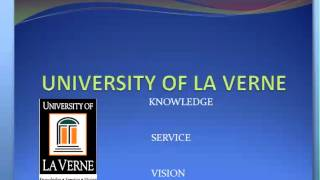 Welcome: University of LaVerne