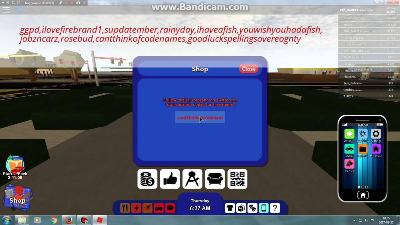 Kody do Roblox RoCitizens na 30,500$ - YouTube