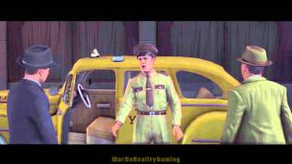 L.A. Noire 100% Walkthrough Part 54: The White Shoe Slaying - Yellow Cab Trace HD