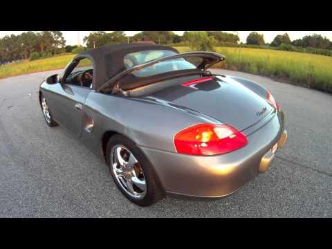 Porsche 986 Boxster Top Operation You