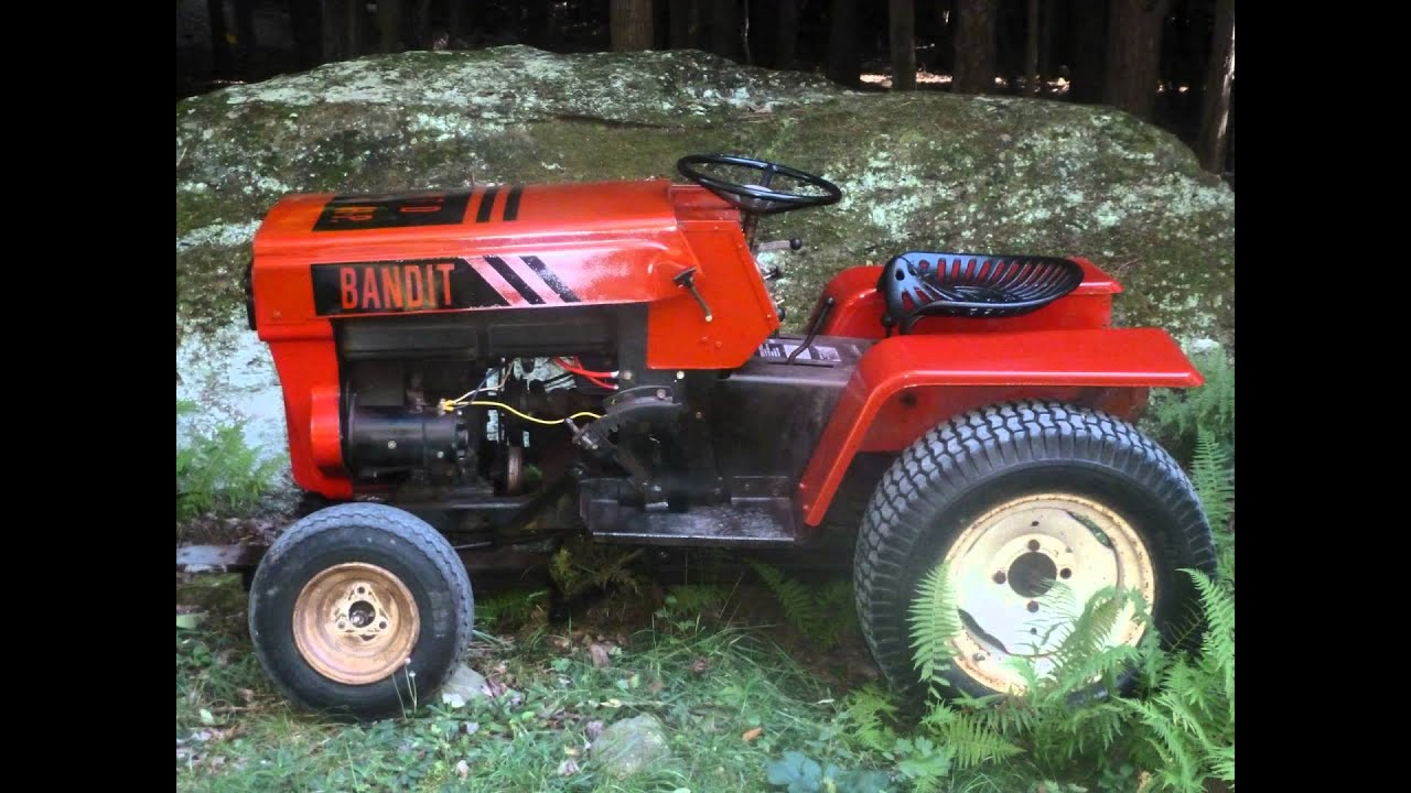 16 Mtd Tractor : Mtd garden tractor quot the bandit youtube