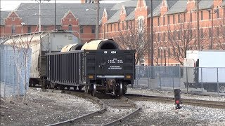 Ep. 329: CSX Local Y297 Switching Padnos - Rough Industrial Trackage