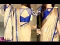 TOP Beautiful Designer Saree Net Blouse Designs