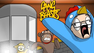 Video POKEMON SHOWDOWN!! - Gang Beasts Funny Moments download MP3, 3GP, MP4, WEBM, AVI, FLV November 2017