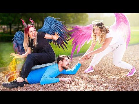 Ангел VS Демон / Мной управляют добрый и злой ангел