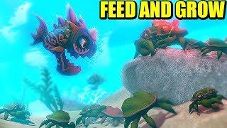 FEED & GROW - PIRAÑAS AL ATAQUE | Gameplay Español - VICIO ONE MORE TIME