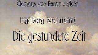 """Ingeborg Bachmann """"Die gestundete Zeit"""" II"""