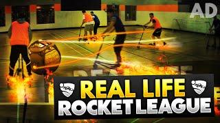 REAL LIFE ROCKET LEAGUE!!!