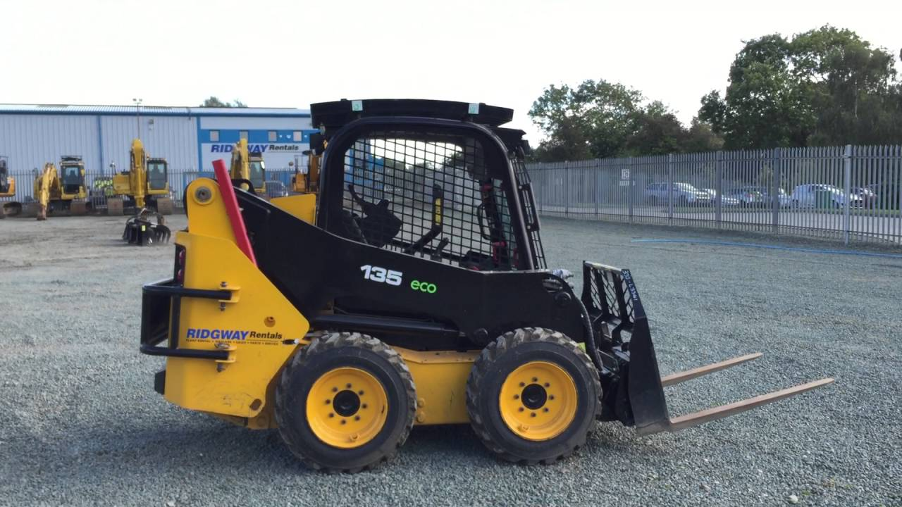 JCB 135 Skidsteer Bobcat for sale