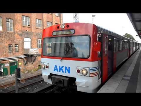 S-Bahn Hamburg - Züge im S-Bahnhof Eidelstedt