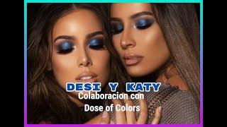 Colaboracion de Desi Perkins y Katy con Dose of Colors