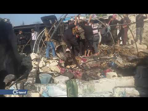الشبكة السورية لحقوق الإنسان: ميليشيا أسد مسؤولة عن قصف مخيم قاح بإدلب  - 15:59-2019 / 12 / 13