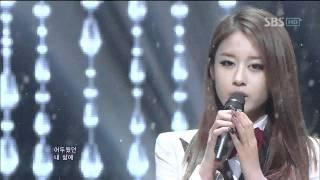 T Ara Davichi We Were In Love 우리 사랑했잖아 Sbs Inkigayo 인기가요 20120108