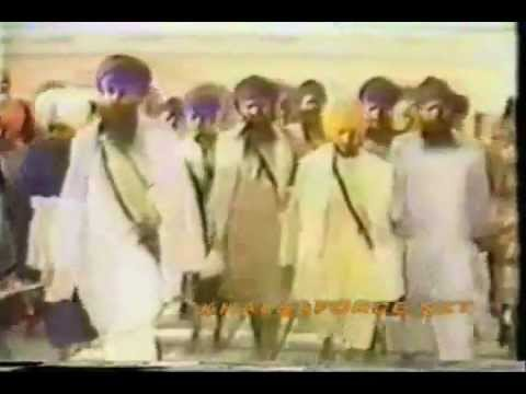Sant Jarnail Singh Bhindranwale Walking Arround Parikarma
