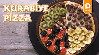 Kurabiye Pizza Tarifi - Onedio Yemek - Tatlı Tarifleri