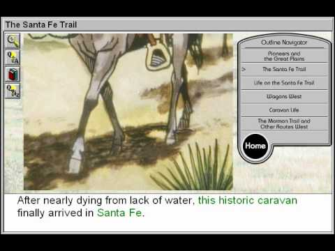 The Santa Fe Trail (Covered Wagons and Westward Expansion Part 2)
