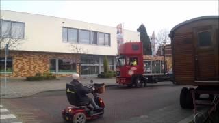Circus Herman Renz in Winterswijk 2015 opbouw deel 1
