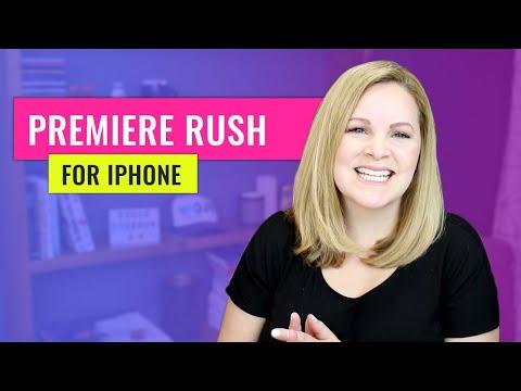 Adobe Premiere Rush - iPhone Tutorial