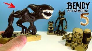 ЛЕПИМ ЗВЕРСКОГО БЕНДИ 5 из игры Bendy and the Ink Machine | BEAST BENDY