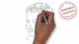Как нарисовать красивое лицо ребенка карандашом(Как нарисовать лицо человека поэтапно карандашом за короткий промежуток времени. Видео рассказывает о..., 2014-07-01T15:14:38.000Z)