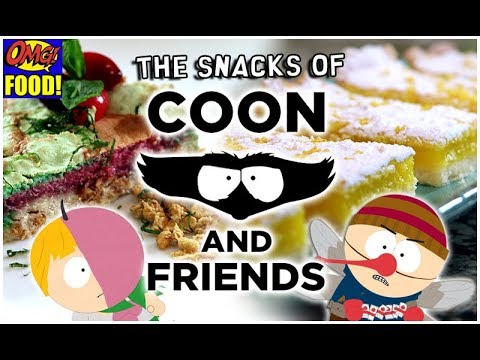 COON AND FRIENDS SNACKS - from South Park