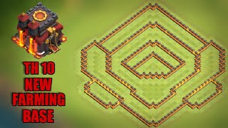 Th 10 New Farming Base 2018 | After Th 12 Update | Clash With GK | CoC