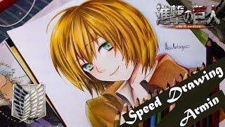 Speed Drawing - Armin | Shingeki No Kyojin (Collab)