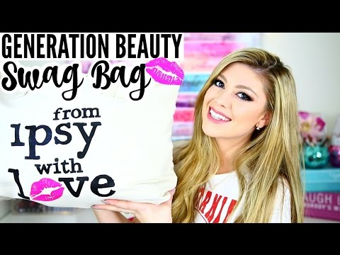 WHAT I GOT IN MY IPSY GENERATION BEAUTY SWAG BAG! | LA 2016
