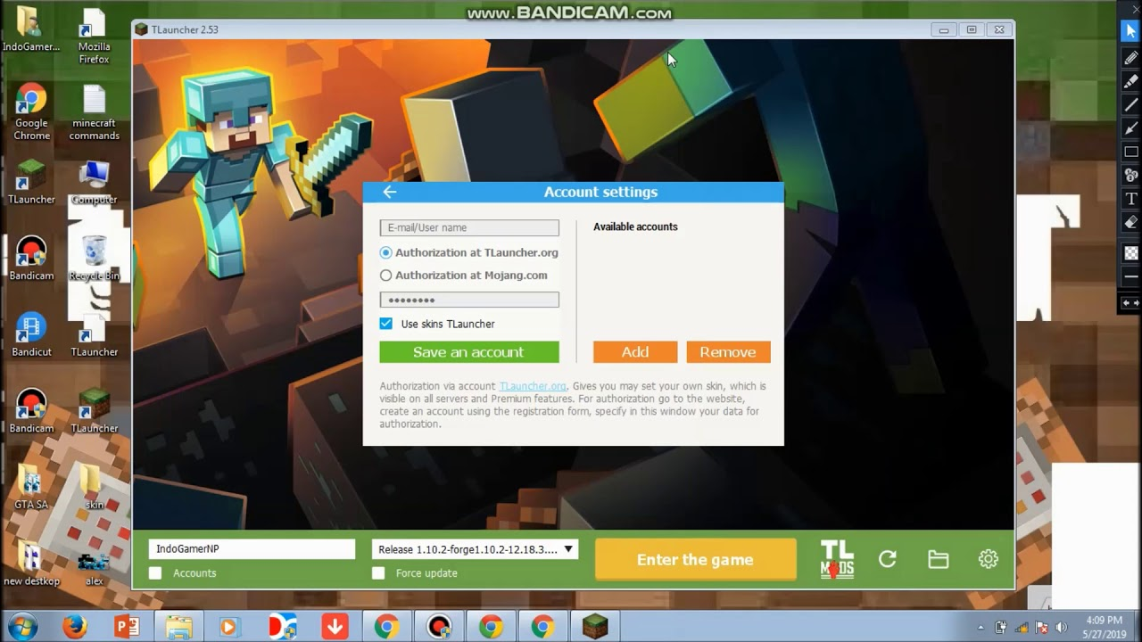 how to upload skin in tlauncher minecraft without sign in(READ