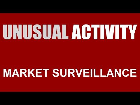 Unusual Activity Market Surveillance 15th December