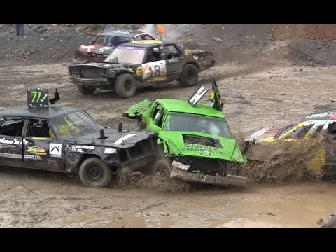 2017 Demolition Derby Smash Up For Ms Big Car Heat Youtube