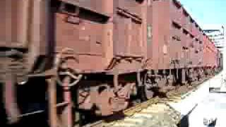 Indian railway goods train