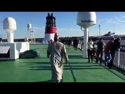 TRIP ON VIKING LINE FROM HELSINKI TO STOCKHOLM